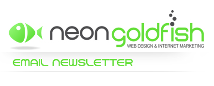 Neon Goldfish Email Newsletter