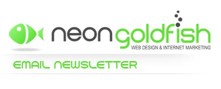 Neon Goldfish Email Newsletter