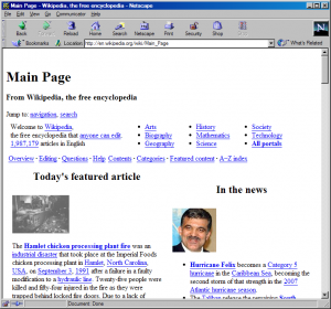 It's never too late to open up that install of Netscape Navigator you've got buried on your old computer.