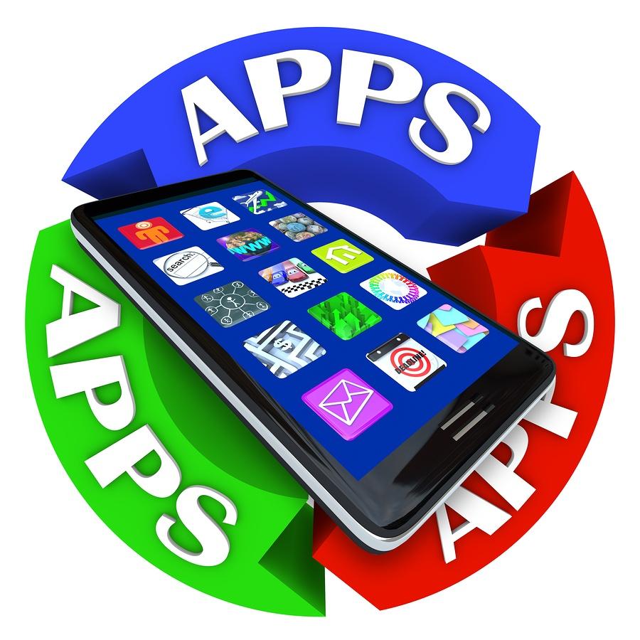 Smart Phone with Apps