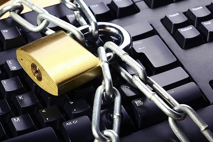 Lock around Keyboard