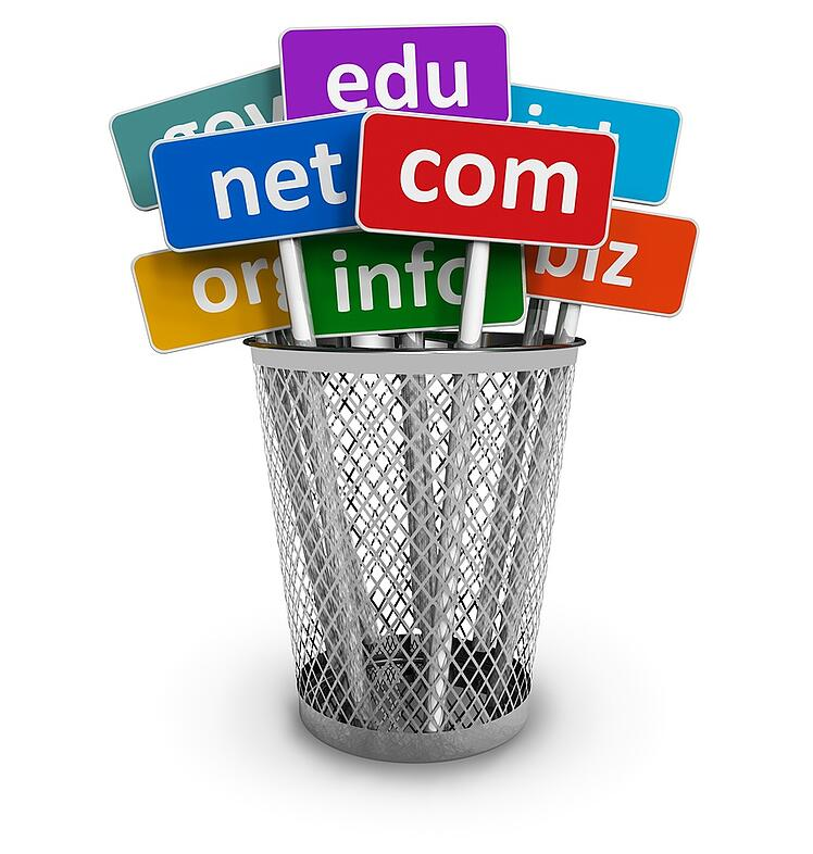 There are many options for domain extensions.